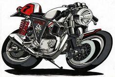 RocketGarage Cafe Racer: Cafe Racer Comic