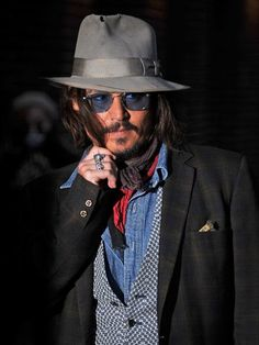Johnny Depp, one of the most versatile actors EVER!!!!