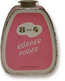 8x4 talkpoeder in strooibus - Beiersdorf AG, Hamburg