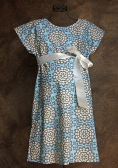 Maternity Delivery Hospital Gown in Sadie - Baby Shower Gift - Cream or Gray - Ready to ship - So easy to breastfeed in. $55.00, via Etsy.