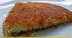 Evde Kolay Künefe Yapmanın Püf Noktaları – Kurabiye – Las recetas más prácticas y fáciles Turkish Delight, Lasagna, Quiche, Tart, Food And Drink, Breakfast, Ethnic Recipes, Desserts, Foods
