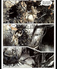 Druuna Issue - Read Druuna Issue comic online in high quality Serpieri, Comics Online, Les Oeuvres, Heavy Metal, Comic Art, Environment, Ink, Illustration, Movie Posters