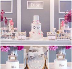 Dior theme party