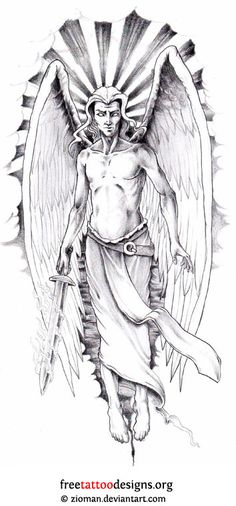 dibujos tatuajes tribales angeles - Cerca amb Google