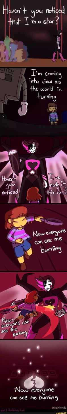 undertale---Mettaton EX and NEO, Frisk