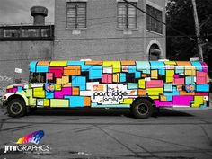 The Partridge Family Bus Wrap by JMR Graphics