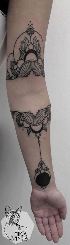 Mirja Fenris Tattoo : Foto