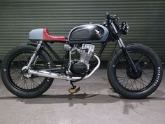 HONDA CG125 Cafe Racer Kevils Speed Shop Scrambler, Bobber, Custom Build Project
