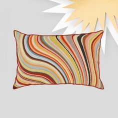 Paul's signature Swirl design as a hand woven wool tapestry cushion. Rug Company, Pillow Fight, Swirl Design, Cute Baby Clothes, Paul Smith, Soft Furnishings, Hand Knotted Rugs, Accessories Shop, Decorative Throw Pillows