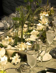 tablescape from Preston Bailey.