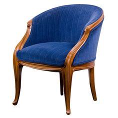 French Art Nouveau armchair by, Louis Majorelle