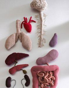 Stitchin' Bints: Knitted body parts roundup