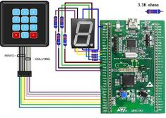 Embedded systems course: Sample C-program/code for to interface Keypad/keyboard Circuit Board Design, Printed Circuit Board, Program Code, Microcontroller Board, Internet, Arduino, Platforms, Programming, Keyboard