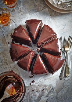 Re-Cake 2.0: Torta Cioccolato e  Barbabietola