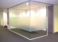 Glass Room Partitions designer half glass office demountable walls room dividers cubicle