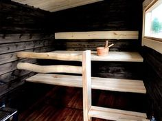 Sauna Shower, Indoor Sauna, Sauna Design, Finnish Sauna, Spa Rooms, Relaxing Bath, Home Spa, Decorating Your Home, Sweet Home
