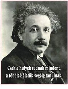 Albert Einstein was a famous physicist well-known for his theory of relativity. He is considered to be the Father of Modern Physics. Read on to learn more about his life. Motto Quotes, Life Quotes, Smart Quotes, Funny Quotes, Physicist, Albert Einstein, Motivation Inspiration, Picture Quotes, Biography