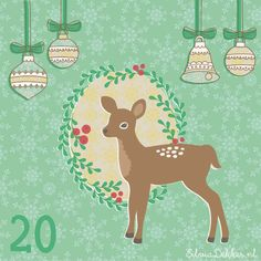 Christmas advent December 20 by Silvia Dekker