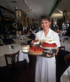 We heard from folks who missed the bread basket, the Tyrolean dumplings and the Wiener Schnitzel a la Holstein, but the single most missed menu item from Haussner's is, of course, the immortal strawberry pie.