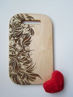 Personalized Cutting Board Aura of Spring от CaimanCutting на Etsy