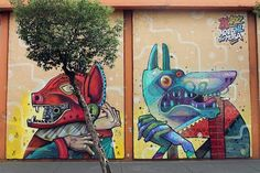 Aryz and Saner in Mexico City