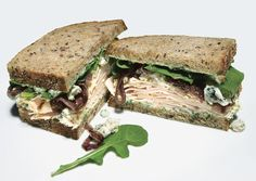 Smoked Turkey, Blue Cheese, and Red Onion Sandwiches - Bon Appétit