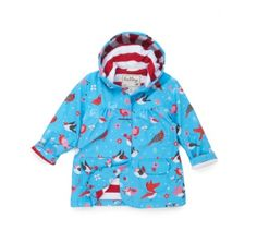 Hatley Winter Birds Raincoat at Wellies and Worms £27.95