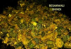 Besanwali Bhindi India Food, Okra, Spice Mixes, Palak Paneer, Spices, Suit, Cooking, Ethnic Recipes, Spice Blends