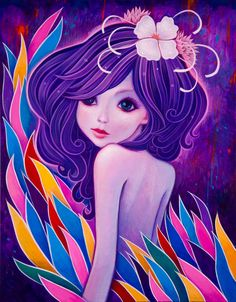"""Ripple,"" 11 x 14 inches, Acrylic on Wood, Jeremiah Ketner 2013."