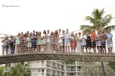 Bridge Group - Fun people!  Key Largo Marriott.  Florida Keys Destination Beach Wedding.  Photography by McLaughlinPhotoVideo.com