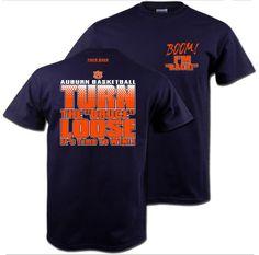 The Bruce is Loose Tee Auburn Basketball
