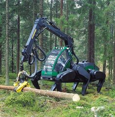 Logging Spider is this real, I see it having too high a ground pressure and being clumsy
