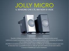 Infografica sensore allare Jolly Micro