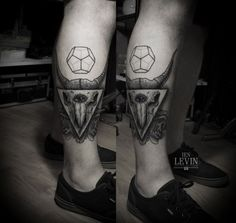 Tattoos by Ien Levin, via Behance