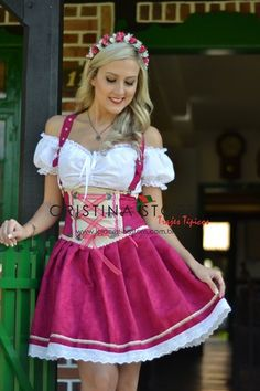 Traje Típico Alemão Alícia - comprar online