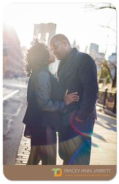 J'nelle + Tyrece :: Brooklyn, N.Y. :: Engagement Session by Tracey-Ann Jarrett Photography #TJtheHAPPYphotographer