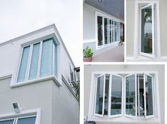 Providing you the best window glass repair in Arlington VA. Our professionally trained team approaches you round the clock and provides you the best quality glass repair services. House Window Styles, House Window Design, Balcony Design, House Styles, Style At Home, House Windows, Windows And Doors, Home Design, Window Glass Repair