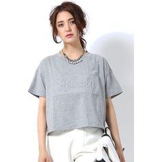 エンボスロゴTシャツ【GLITTER 2015年05月号 P.71掲載】(アバハウス