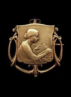 Brooch, Designer: Frédéric Charles Victor de Vernon. Maker: Julian Duval. Year: 1894 - 1912.