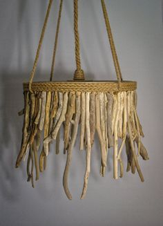 Driftwood Hanging Light Chandelier,