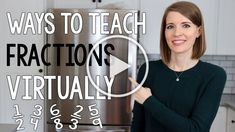 If you're looking for ways to teach fractions virtually, this video has digital fraction manipulatives, fraction games and activities, and online games. #vestals21stcenturyclassroom #fractions #teachingfractions #math #teachingmath #waystoteachfractionsvirtually #digitalfractiongames #digitalfractionactivities