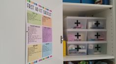 Living Organised: First Aid Checklist