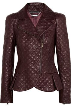Alexander McQueen | Quilted leather jacket