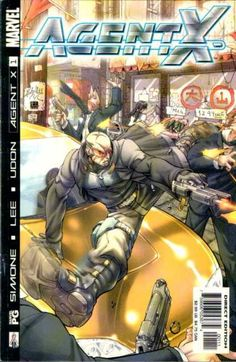 Mission accomplished and review of series completed at C2E2: Agent X