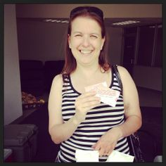 One of our winners! #drive4urschool #brinsonford