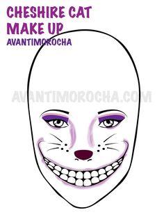 Makeup Cheshire Cat Makeup, Cheshire Cat Halloween, Cat Halloween Makeup, Cheshire Cat Costume, Chesire Cat, Easy Halloween Costumes, Cat Costumes, Halloween Kostüm, Costume Ideas