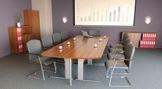 Meble biurowe Econimic Plus dzięki wielu dostępnym modułom pozwalają na funkcjonalną aranżację pomieszczeń biurowych.