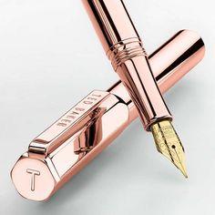 BuyTed Baker 24k Fountain Pen, Rose Gold Online at johnlewis.com