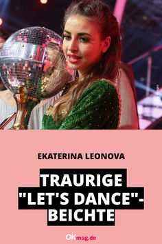 """Von 2013 bis 2019 wirbelte Ekaterina Leonova in der beliebten Tanz-Sendung """"Let's Dance"""" über das Parkett und verzauberte dabei die zahlreichen Zuschauer. Jetzt offenbarte sie, welche Schattenseiten der Job als Profitänzerin damals für sie bereithielt ... #ekaterinaleonova #letsdance #news #okmag"""