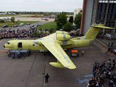 Beriev apresenta aeronave anfíbia Be-200 modernizada